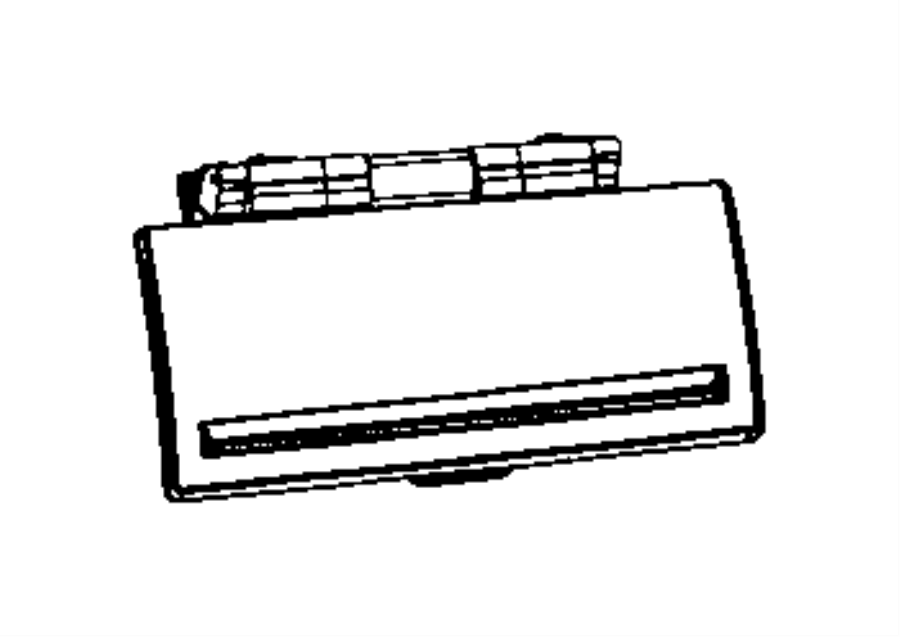 Ram 3500 Door. Glove box. Trim: [all trim codes] color