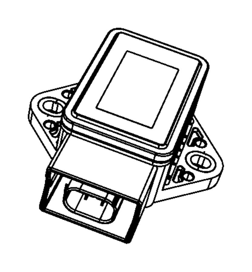 Chrysler Aspen Module. Electronic stability. [anti-lock 4