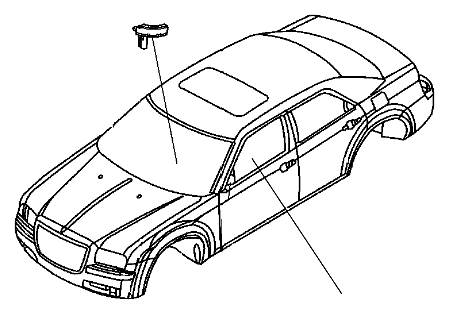 2010 Dodge Challenger Sensor. Steering wheel angle. [power
