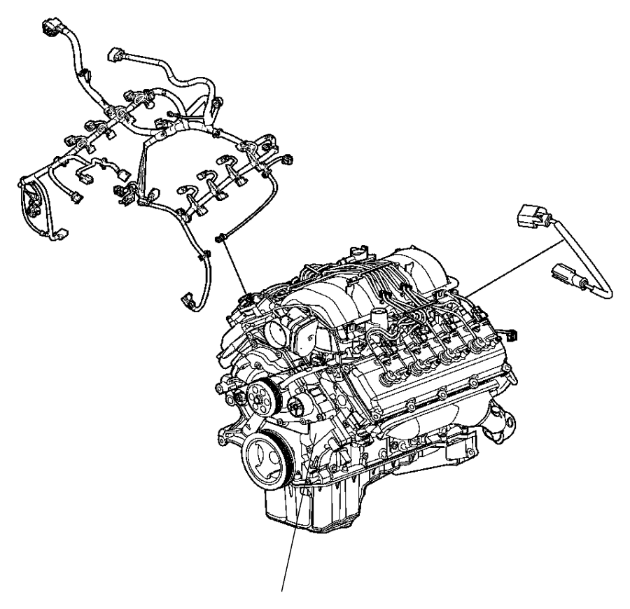2013 Dodge Charger Wiring. Jumper. Multiple displacement