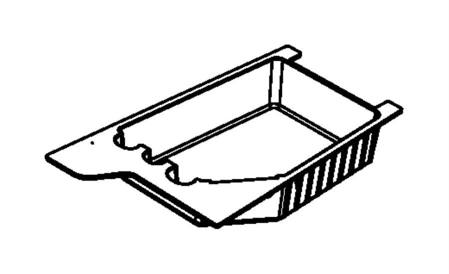 2011 Jeep Liberty Bin. Floor console. Trim: [all trim