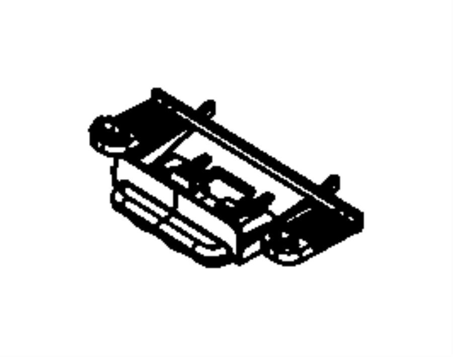 2007 Dodge NITRO Latch. Storage bin lid. Trim: [all trim
