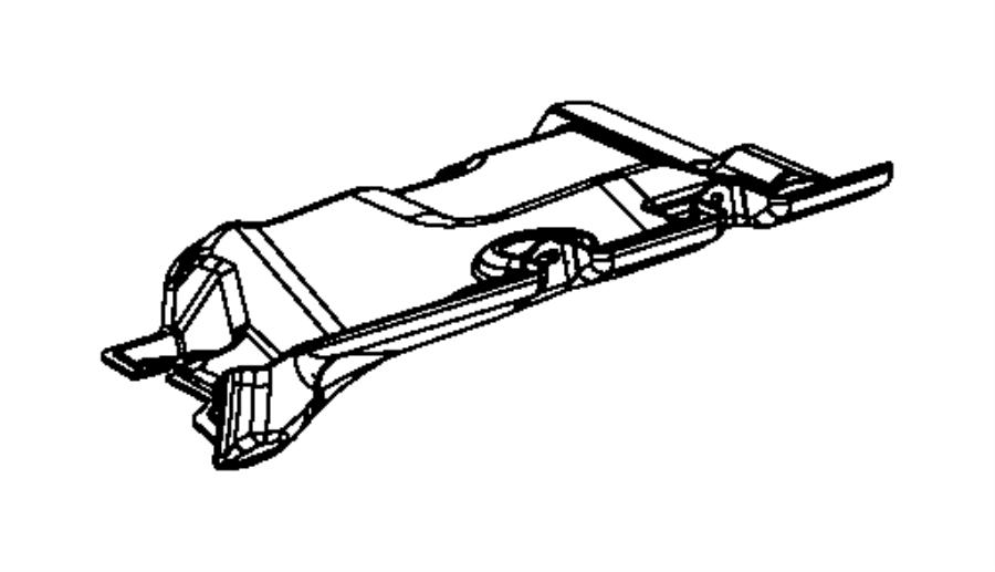 2009 Dodge NITRO Panel. Closeout. Left. Instrument