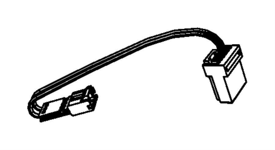 Dodge NITRO Wiring. Steering wheel. [speed control]. Trim