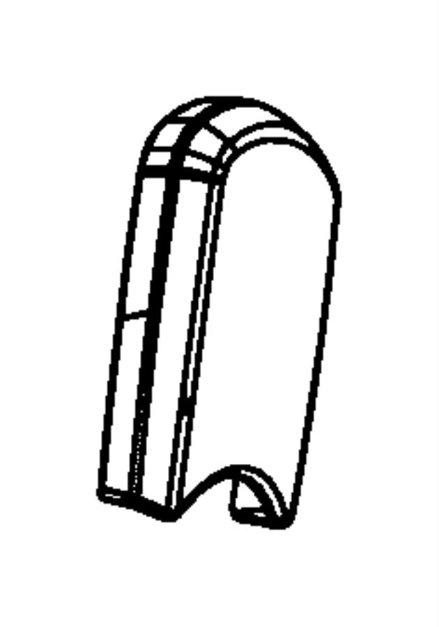 Dodge NITRO Shield. Fold flat. Trim: [cloth low-back