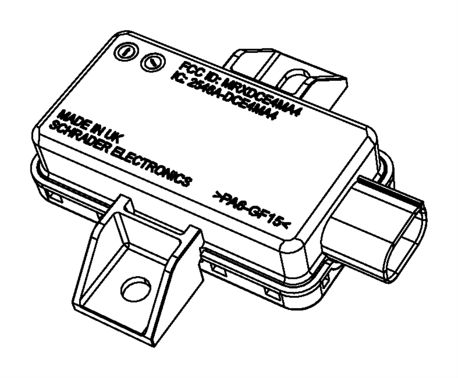 2014 Dodge Durango Module. Tire pressure monitoring