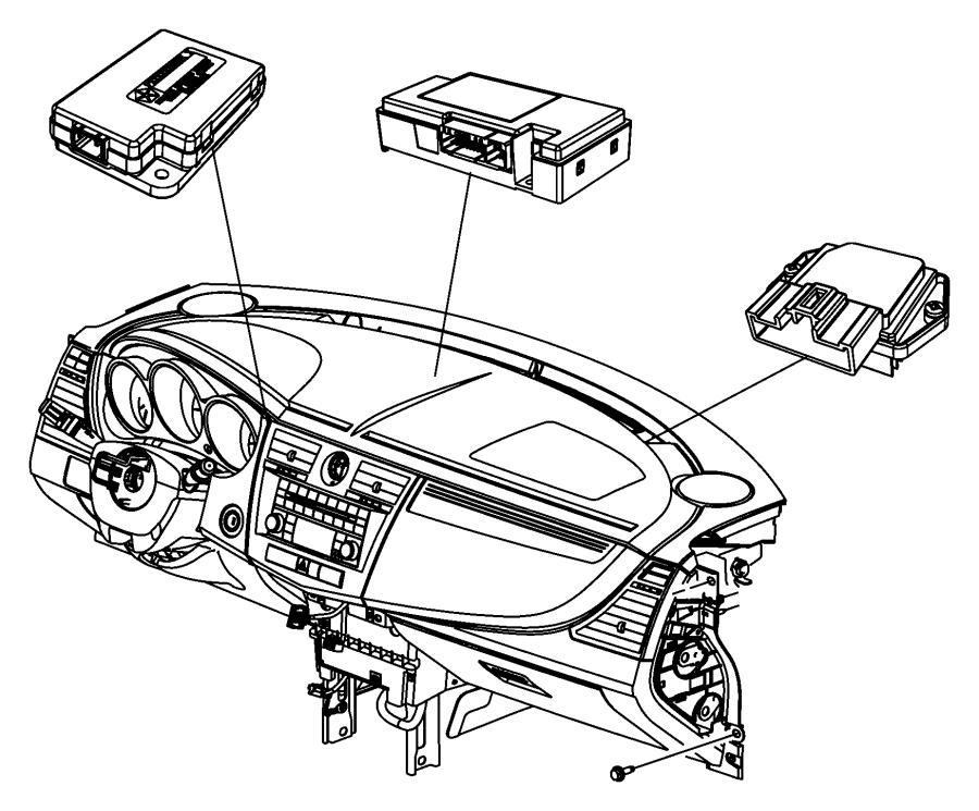 2012 Dodge Caliber Module. Power. Blower motor. Export