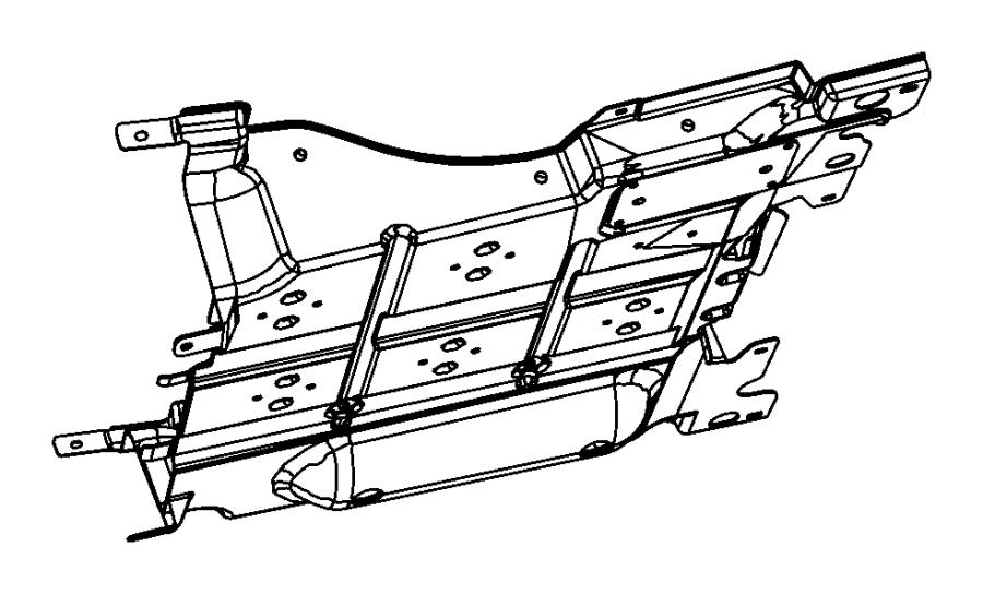 Dodge NITRO Belly pan. Transmission. [all turbo diesel