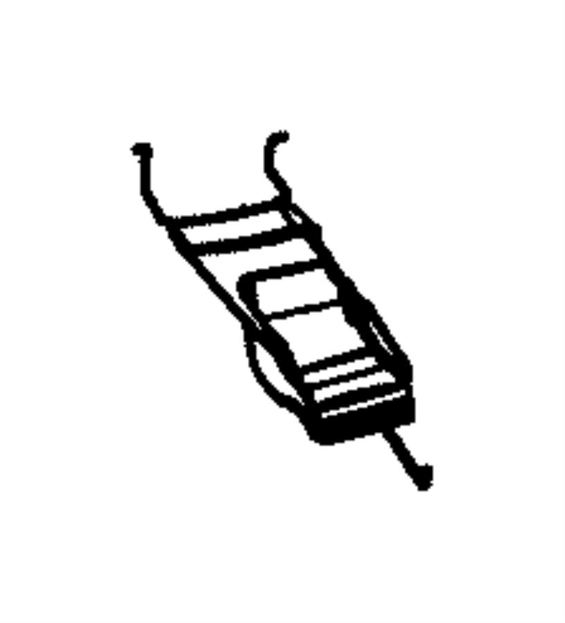 Chrysler Sebring Cover. Folding top side rail linkage