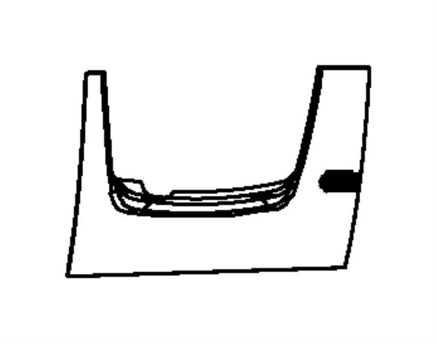 2016 Jeep Wrangler Cover. Steering column, steering column