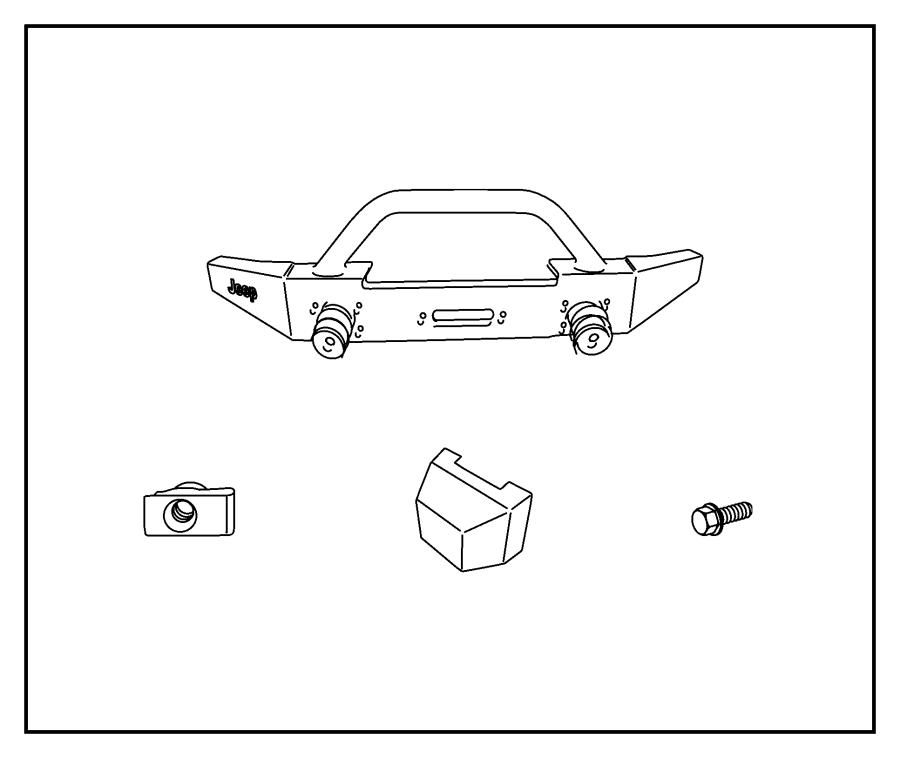 Jeep Wrangler Cover Bumper Component Of Af