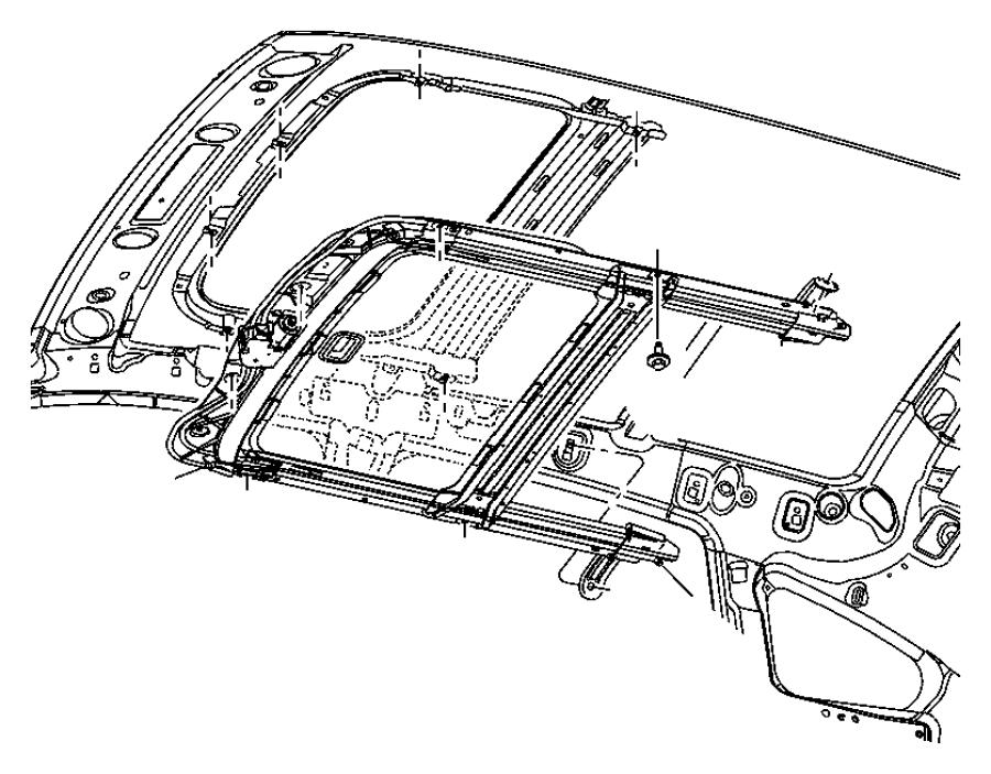 2008 Dodge Caliber Deflector. Sunroof wind. Trim: [no