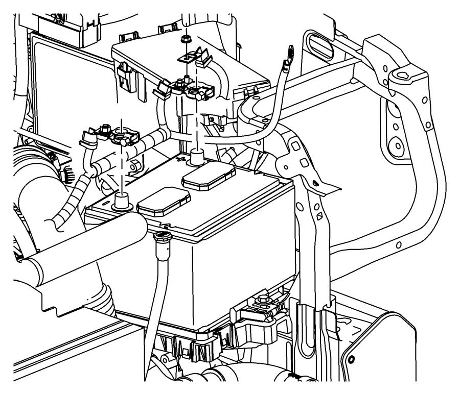 Jeep Compass Wiring. Battery. Module, power, train