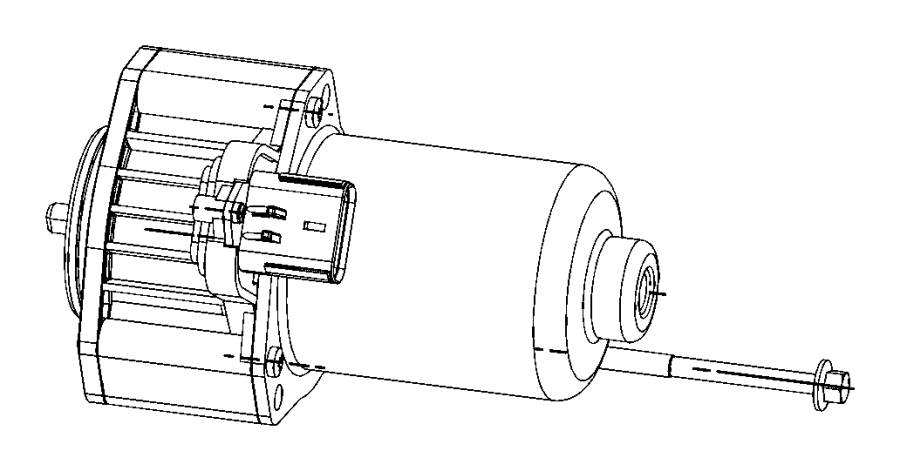 2016 Jeep Grand Cherokee Gear motor. Transfer case. Demand