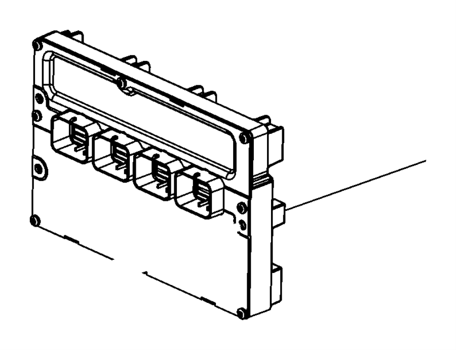 Dodge Durango Module. Powertrain control. Generic. Engine