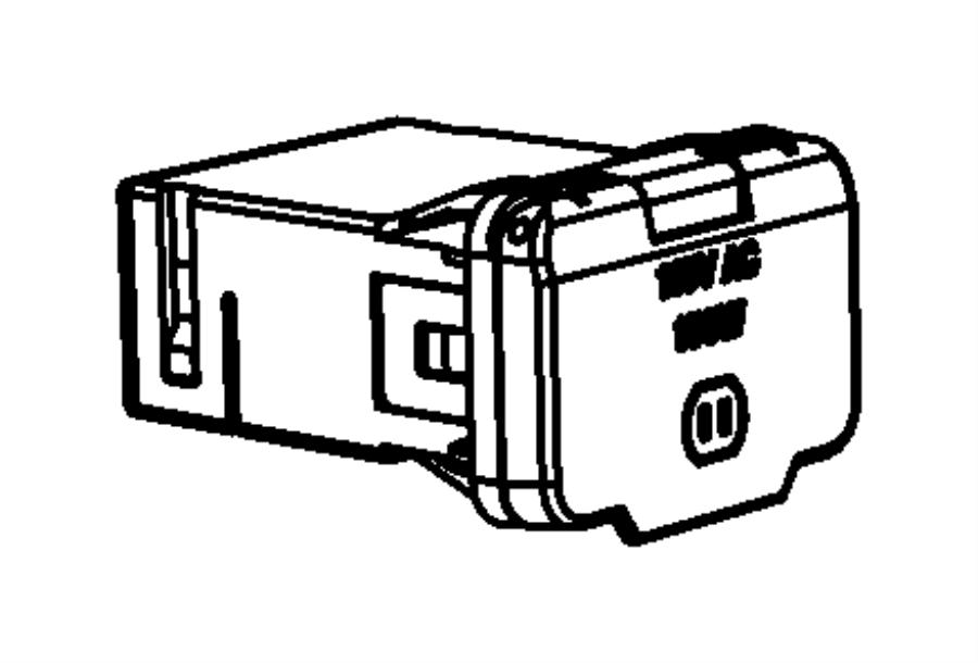 Dodge Magnum Power outlet. Inverter. Trim: [all trim codes