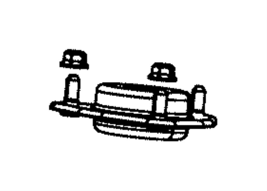 2015 Dodge Journey Mount. Strut. After 10/20/07, up to 10