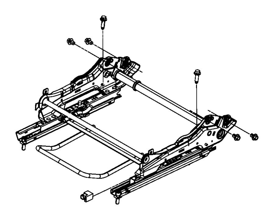 2017 Dodge Grand Caravan Adjuster. Manual seat. Trim