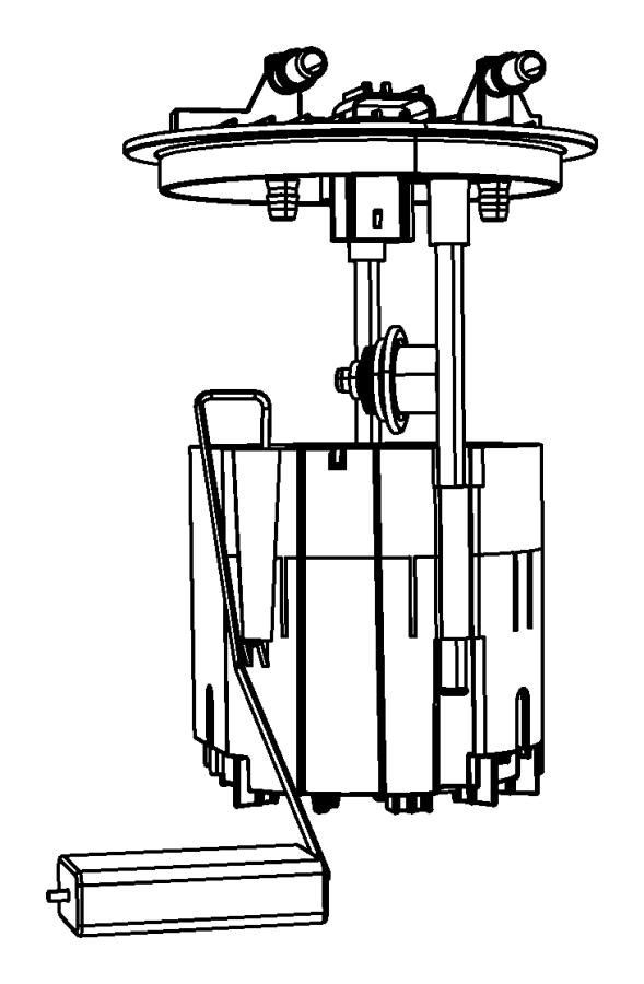 2014 Dodge Grand Caravan Module kit. Fuel pump/level unit