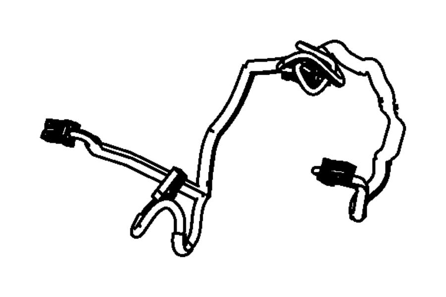 Dodge Avenger Wiring. Steering wheel. Trim: [no