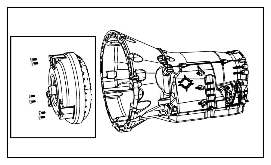 2010 Chrysler 300 Transmission kit. With torque converter