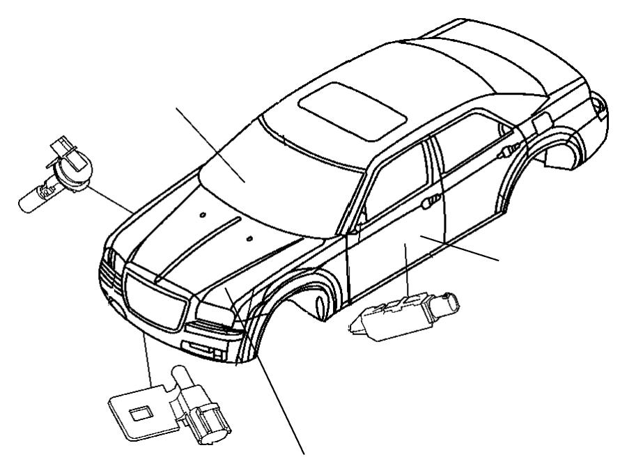 2007 Jeep Liberty Sensor. Washer fluid level. Body, wiper