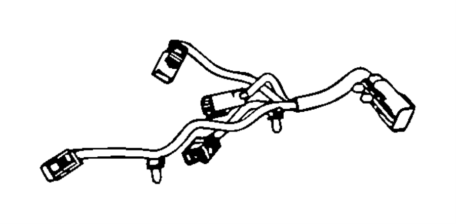 Chrysler Sebring Wiring. Used for: knock, oil pressure