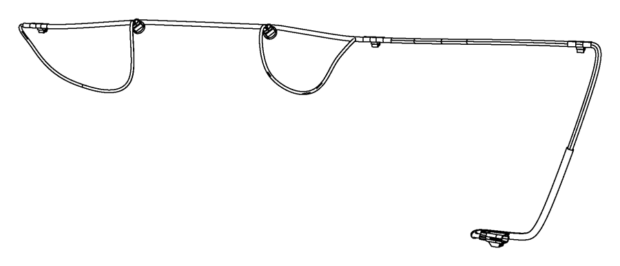Dodge Avenger Wiring. License lamp. [body color fascias