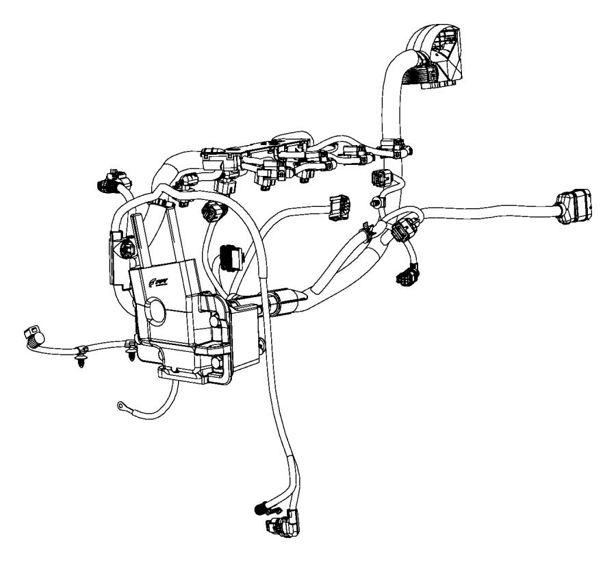 Fiat 500 Wiring. Engine. [engine oil viscosity sensor