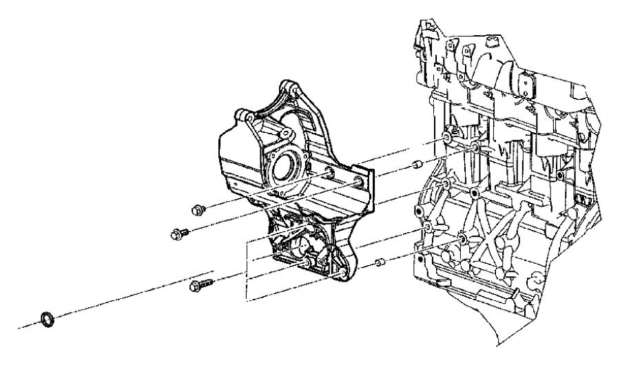 2009 Dodge Ram 5500 Bolt. Mounting. Wiring bracket, wiring