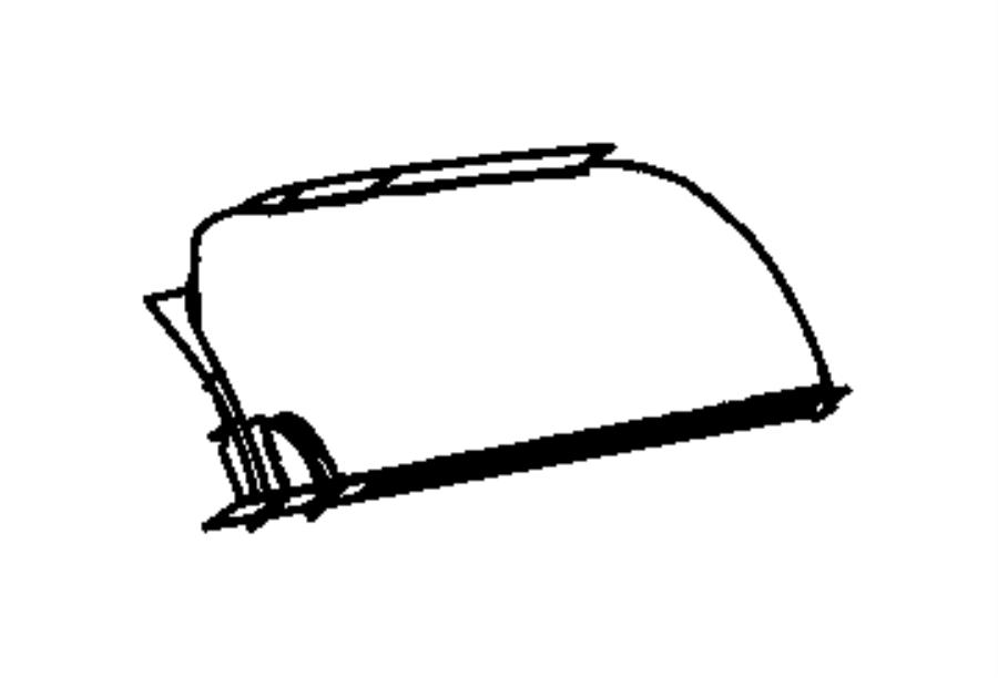 2013 Dodge Grand Caravan Door. Glove box. Trim: [*o0