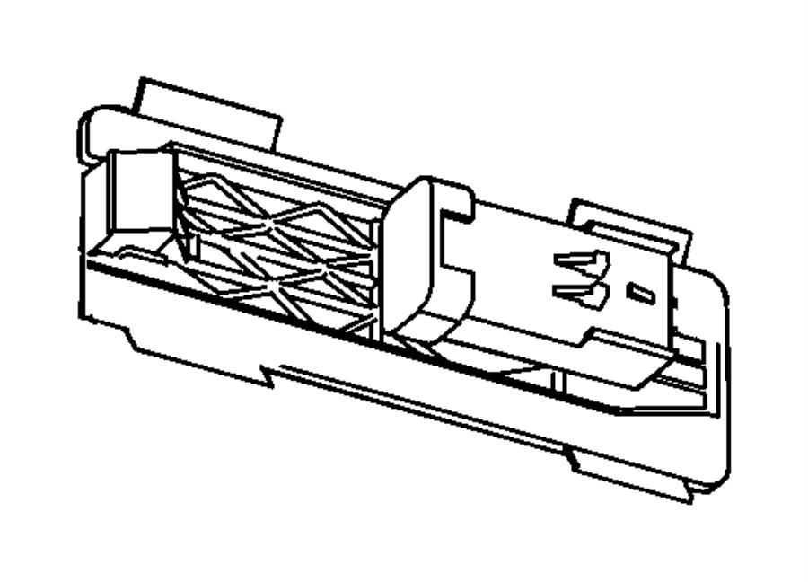 2010 Dodge Ram 3500 Wiring, wiring kit. Tailgate, tailgate