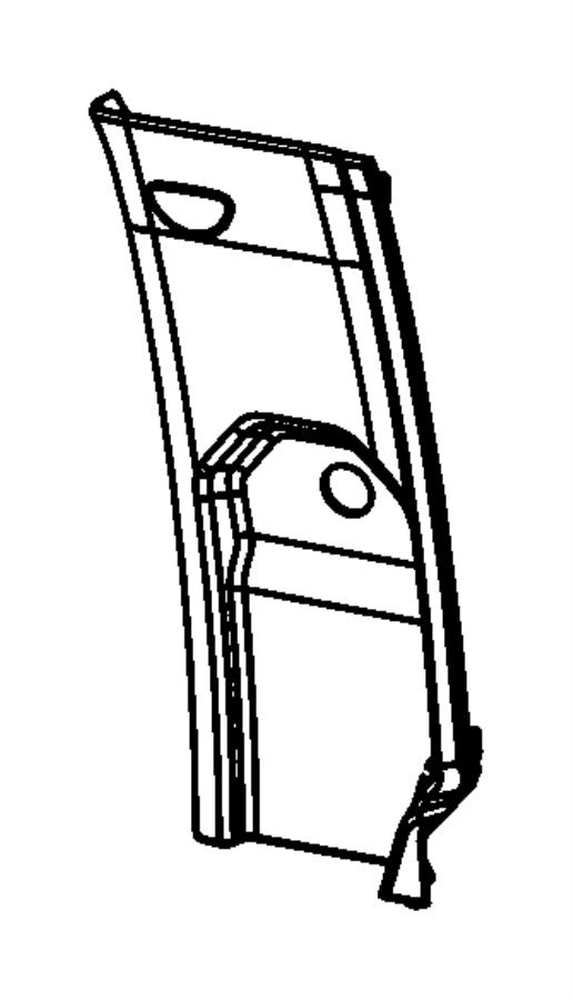 Ram 4500 Cap. C-pillar. Right or left. Trim: [all trim