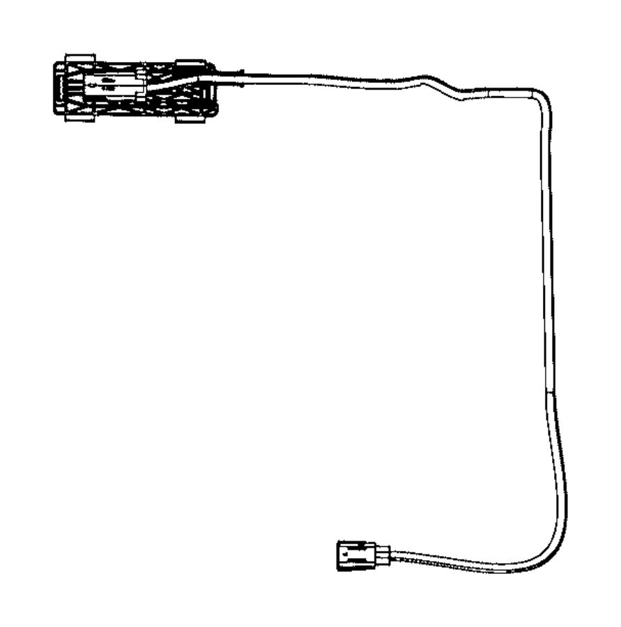 Dodge Ram 3500 Wiring. Jumper. Camera. [parkview(tm) rear
