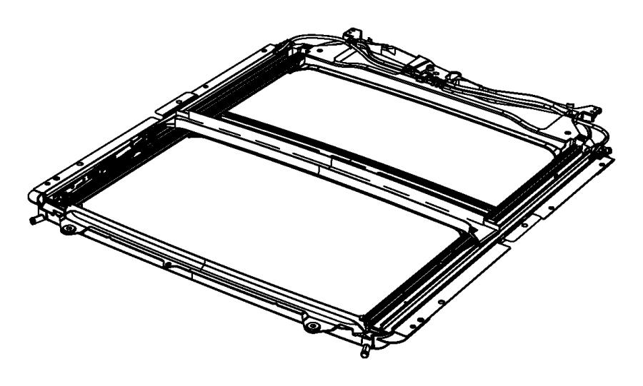 2016 Ram 3500 Cover. Sunroof mechanism. [laramie limited