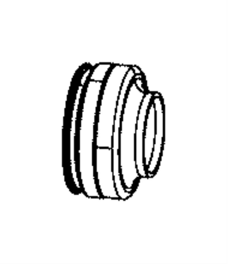 2008 Dodge Ram 5500 Collar. Axle shaft seal. [4.10 axle