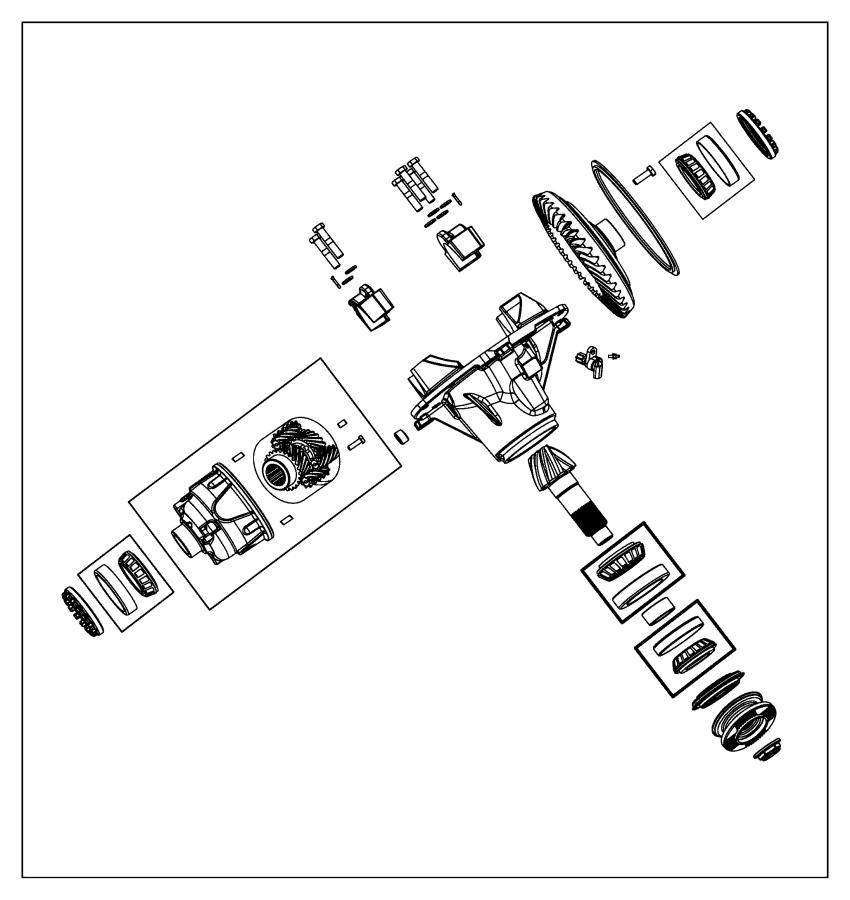 2015 Ram 5500 Plug. Differential filler. [4.10 axle ratio