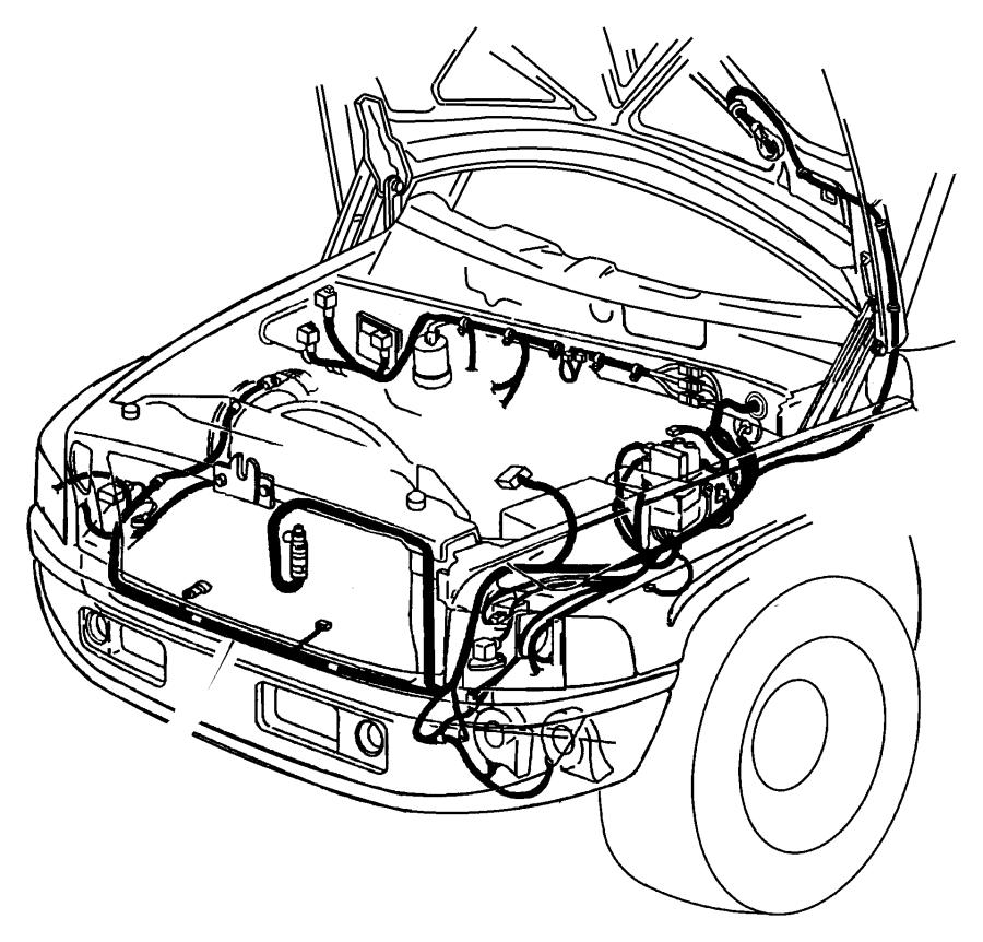 2012 Dodge Ram 3500 Wiring. Dash. Lda, caseman
