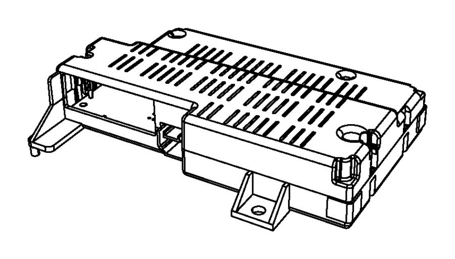 2012 Dodge Journey Module. Telematics. Voice, command