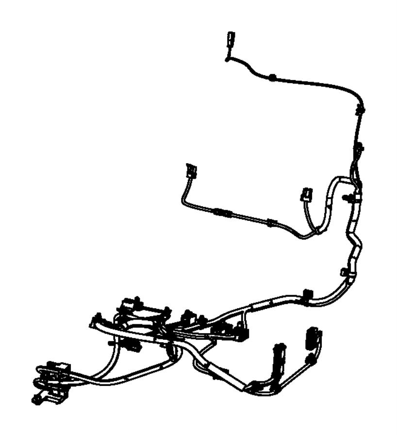 Dodge Journey Wiring. Power seat, seat. Trim: [leather