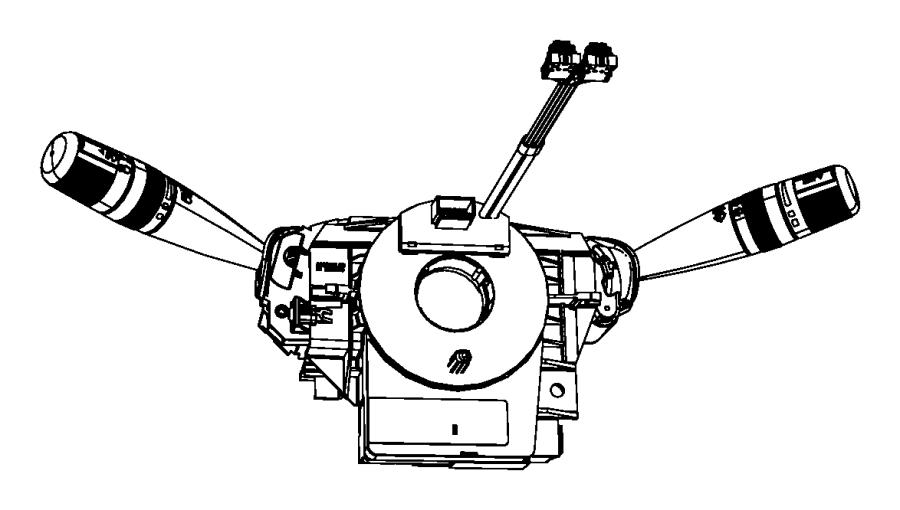 2012 Dodge Journey Clockspring. Steering column control