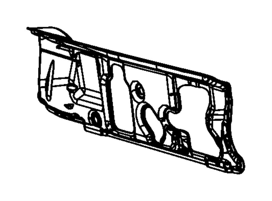 2010 Dodge Journey Silencer. Dash panel. Export. [all
