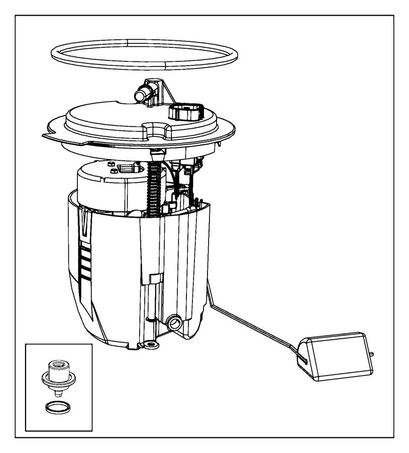 2011 Dodge Avenger Module kit. Fuel pump/level unit