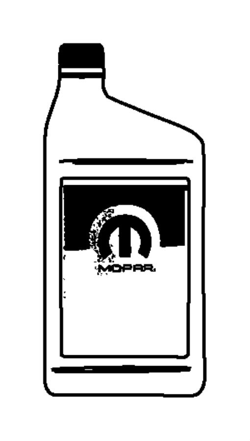 2008 Chrysler Sebring Fluid. Hydraulic. [32oz] minimum