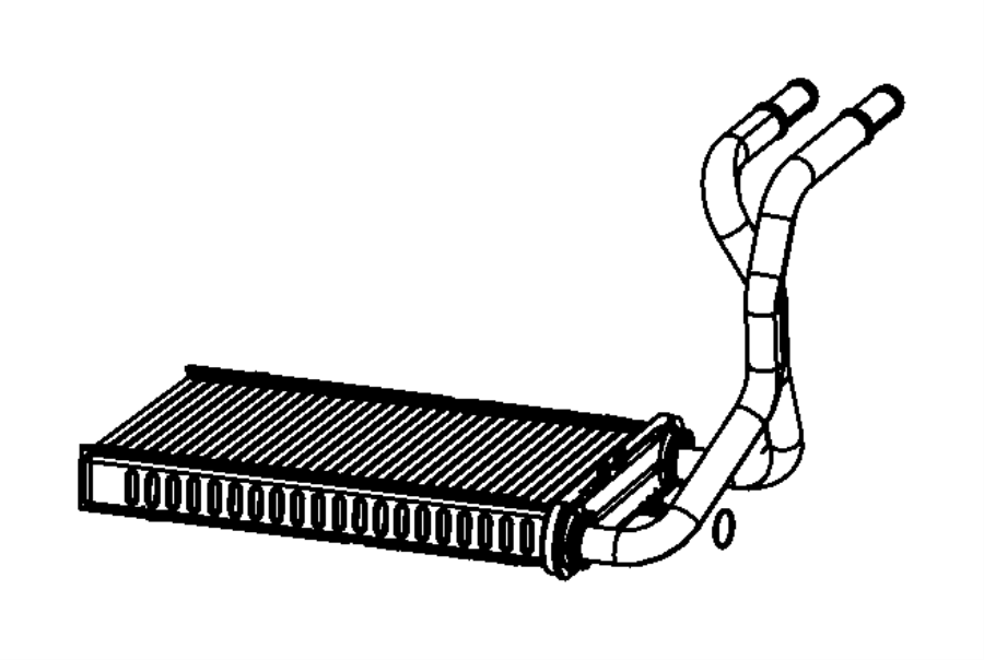 Dodge Nitro Core Heater Air Conditioning Panel