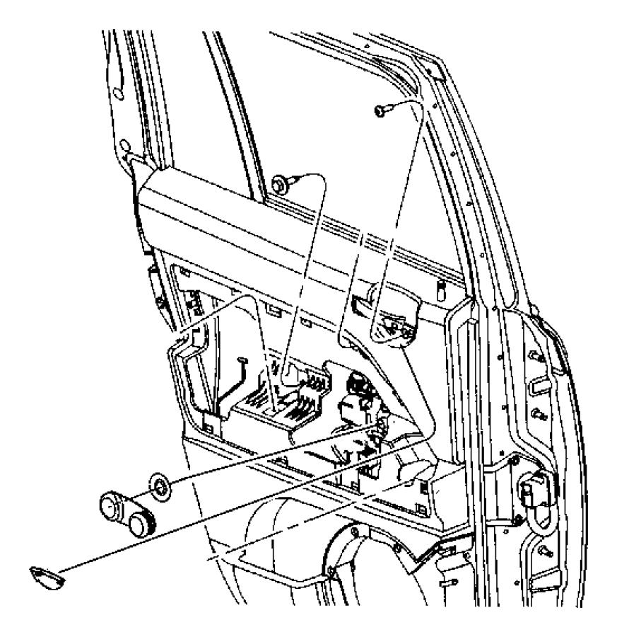 2013 Jeep Patriot Spacer. Window regulator. Trim: [no