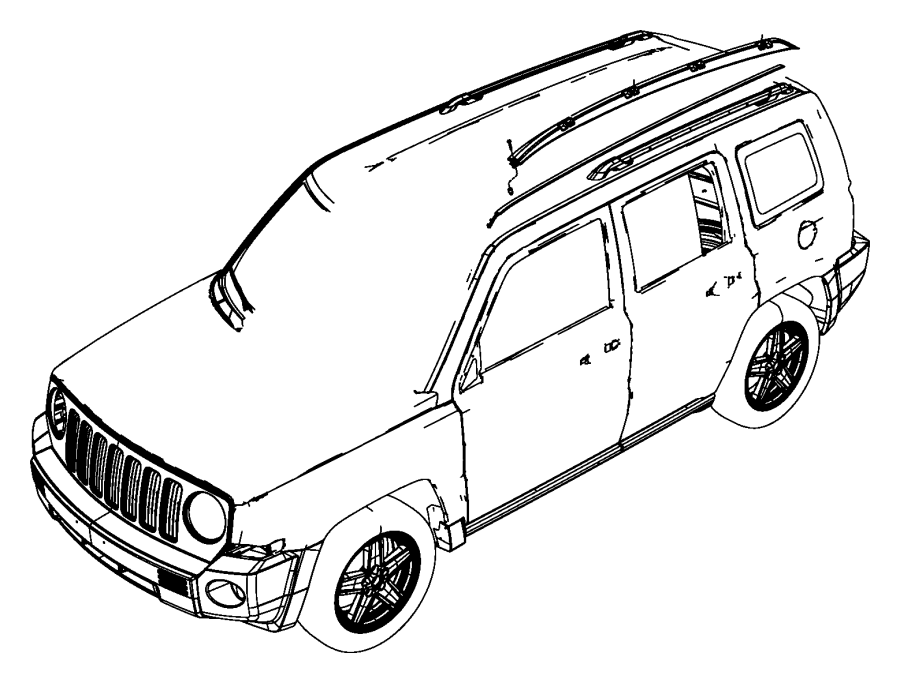 2015 Jeep Patriot Body Parts Diagram. Jeep. Auto Wiring