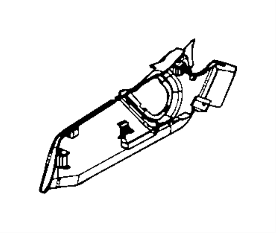 Dodge Caliber Shield. Outboard, passenger outboard, seat
