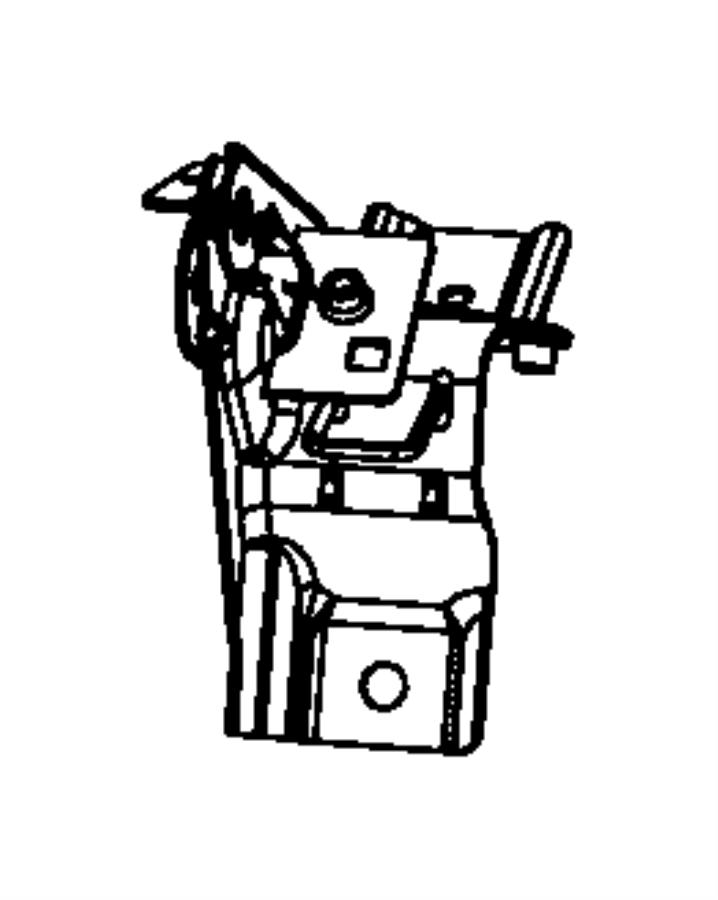 Jeep Compass Bracket. Inboard. Trim: [prem leather trimmed