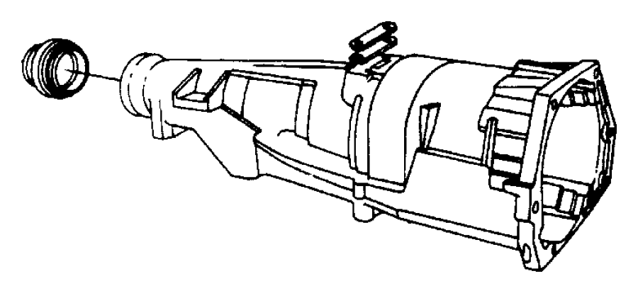 2007 Dodge Ram 3500 Extension. Transmission. Case